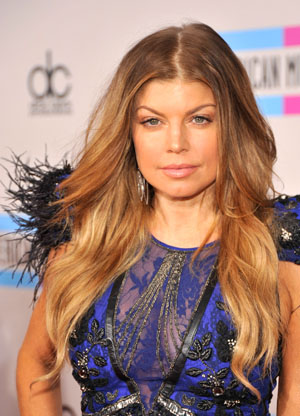 Fergie at the 2010 AMAs