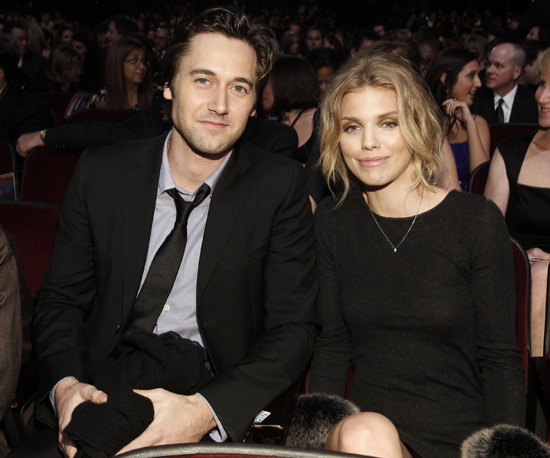 Slide Picture of AnnaLynne McCord and Ryan Eggold at the CNN Heroes Event in LA