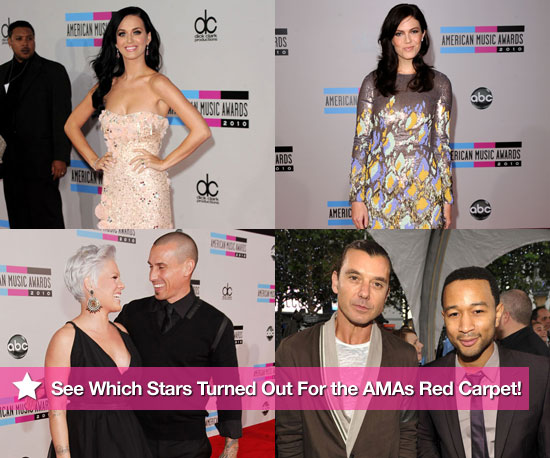 Pictures of Stars at the 2010 American Music Awards 2010-11-21 18:30:00