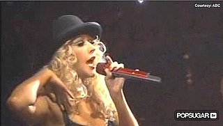 Video of Christina Aguilera Performing Burlesque on the 2010 American Music Awards 2010-11-21 22:43:55