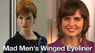 How to Get Retro Winged Eyeliner