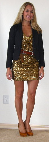 6 ways to wear a sequin dress