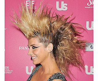 New Pictures of Ke$ha With an Enormous Fauxhawk at the 2010 Us Weekly Hot Hollywood Event