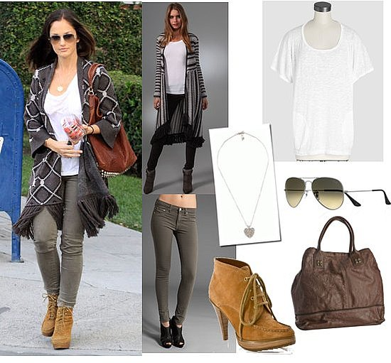Pictures of Minka Kelly Street Style