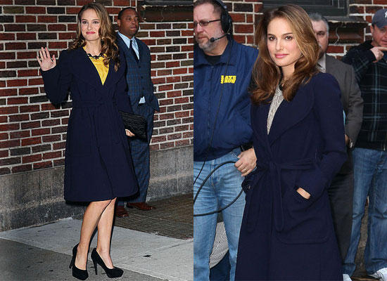 Natalie Portman at The Late Show Talking to David Letterman About Black Swan