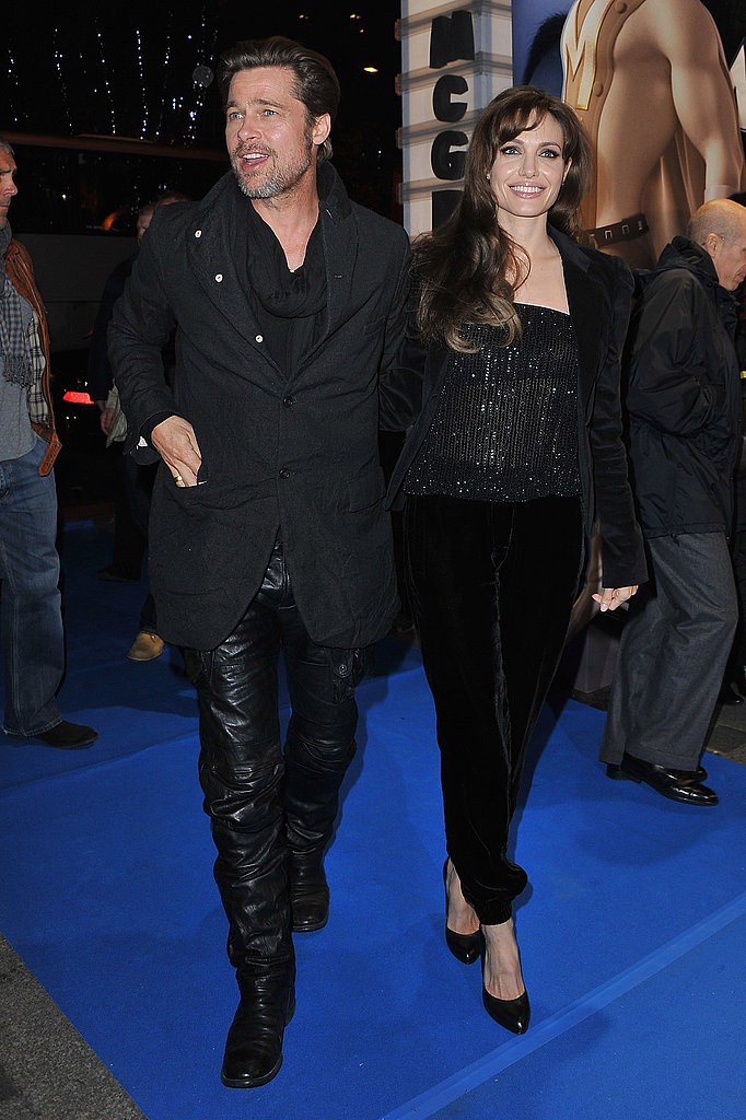 Pictures of Brad Pitt Premiere