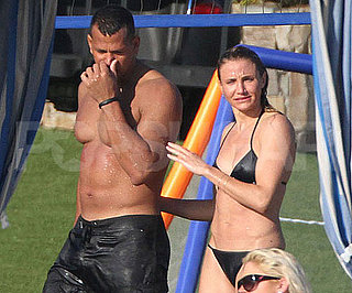 Slide Picture of Cameron Diaz and Alex Rodriguez in Mexico