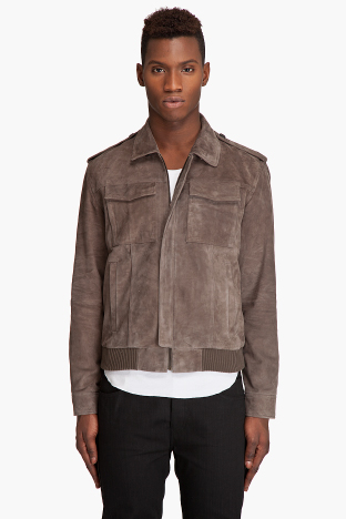Marc by Marc Jacobs Super Soft Suede Jacket ($900)