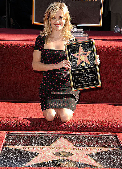 Pictures of Reese Witherspoon Getting Her Star on the Walk of Fame