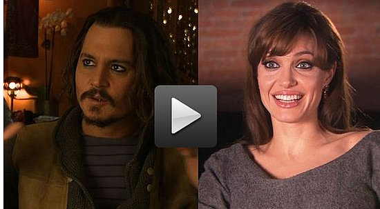 Video of Johnny Depp Calling Angelina Jolie a Perfect Beauty and Walking Poem 2010-12-03 12:20:00