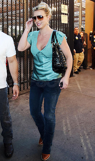 Pictures of Britney Spears Doing Some Holiday Shopping at Walmart in LA