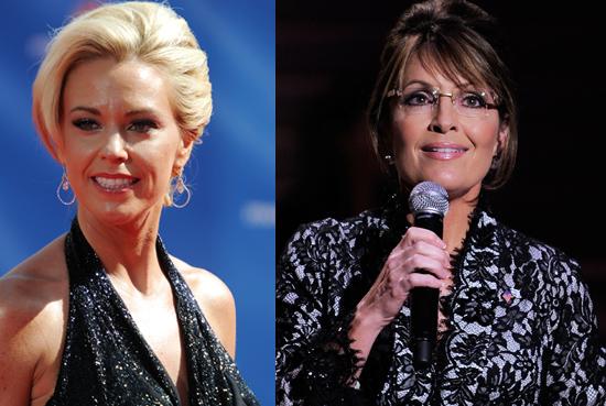Kate Gosselin and Sarah Palin Go Camping in Alaska