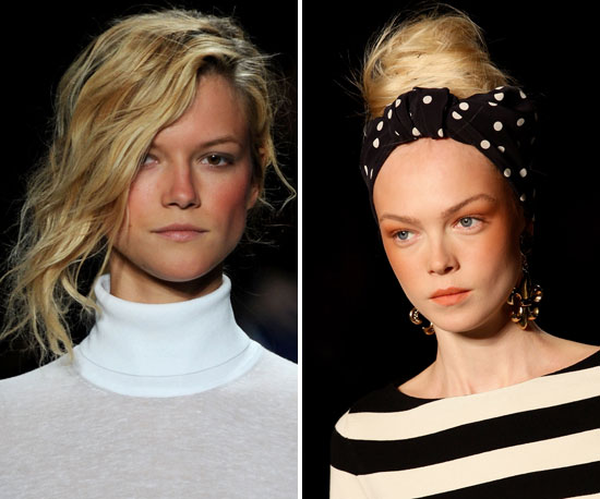 Summer Hairstyles Inspired by the International Spring Runway Including Michael Kors, Versace and Valentino