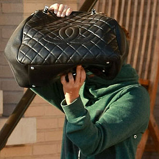 Guess Who Showed Off Her Giant Quilted Chanel Bag?