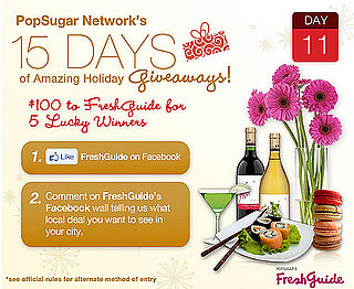 Win $100 to PopSugar's FreshGuide For 5 Lucky Winners!