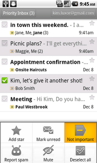New Gmail For Android