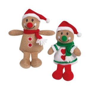 Gingerbread People Dog Toy Style: Girl ($4)