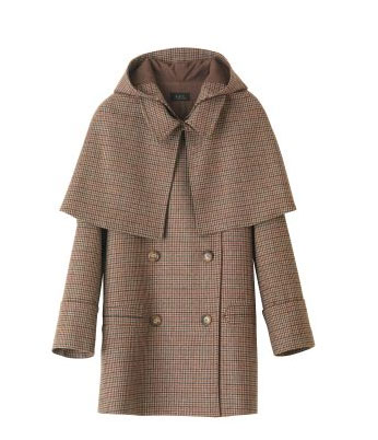 Sherlock Coat ($310, originally $620)