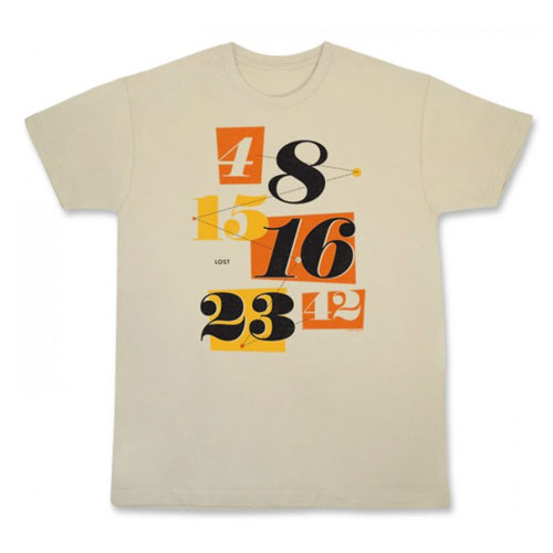 "Lost ""Numbers"" Men's T-Shirt (approx $25)"
