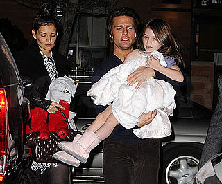 Slide Picture of Katie Holmes Celebrating 32nd Birthday With Tom and Suri Cruise