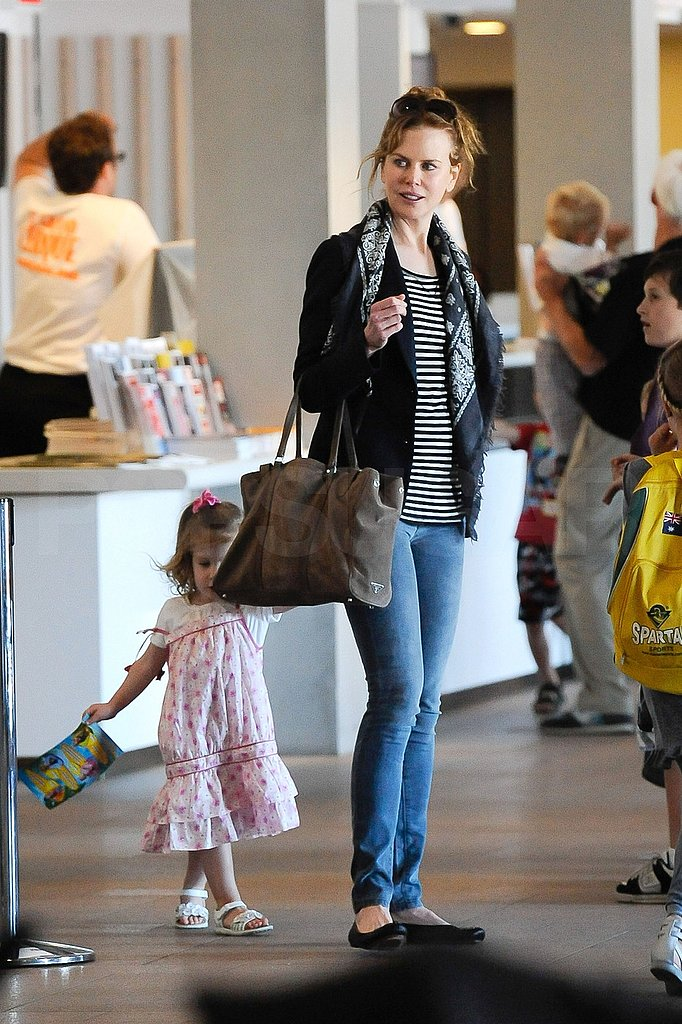 Nicole Kidman Sightsees in Sydney With Sunday, Opens Up About Connor and Bella