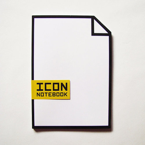 Icon Notebook ($10)