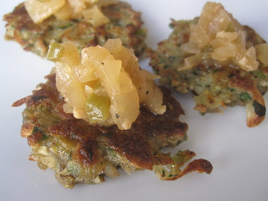 Mini Potato-Leek Latkes Recipe