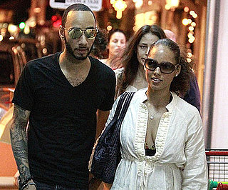 Slide Picture of Alicia Keys and Swizz Beatz in St Barts