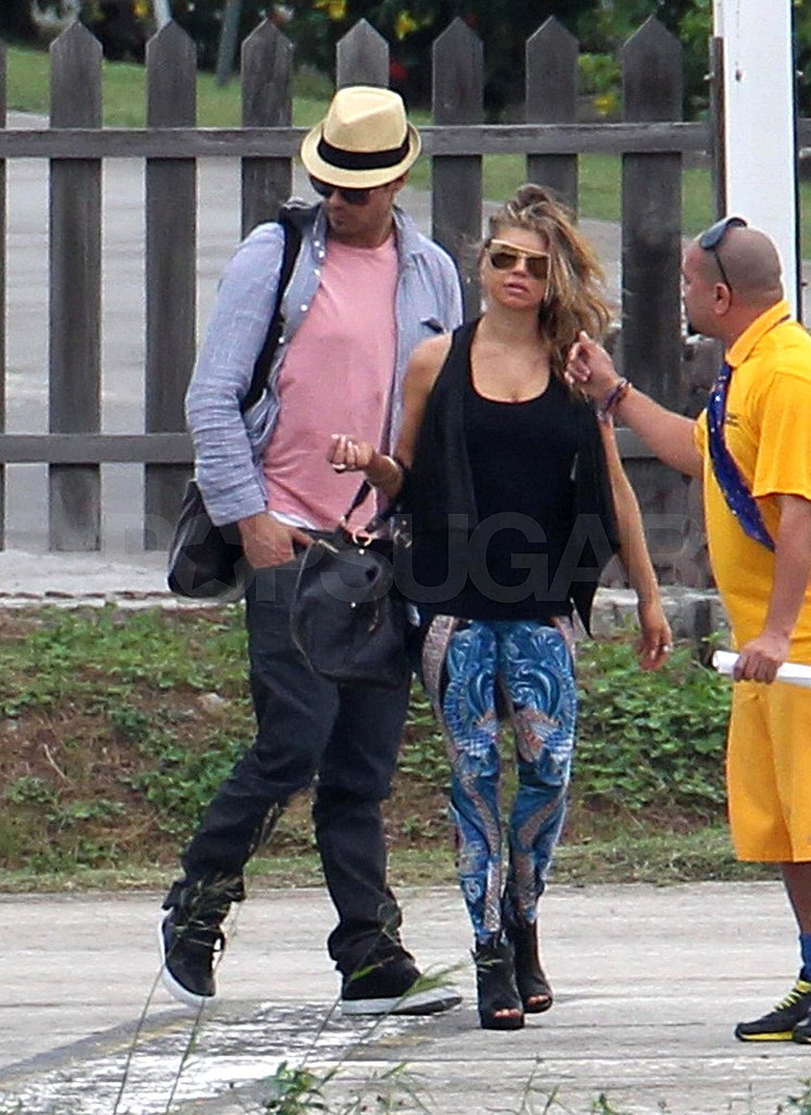 Fergie and Josh Prepare to Ring in the New Year in a New Place