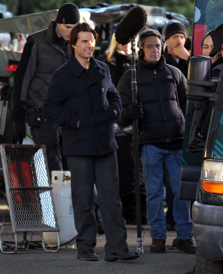 Pictures of Tom Cruise Filming Mission Impossible 4 in Vancouver