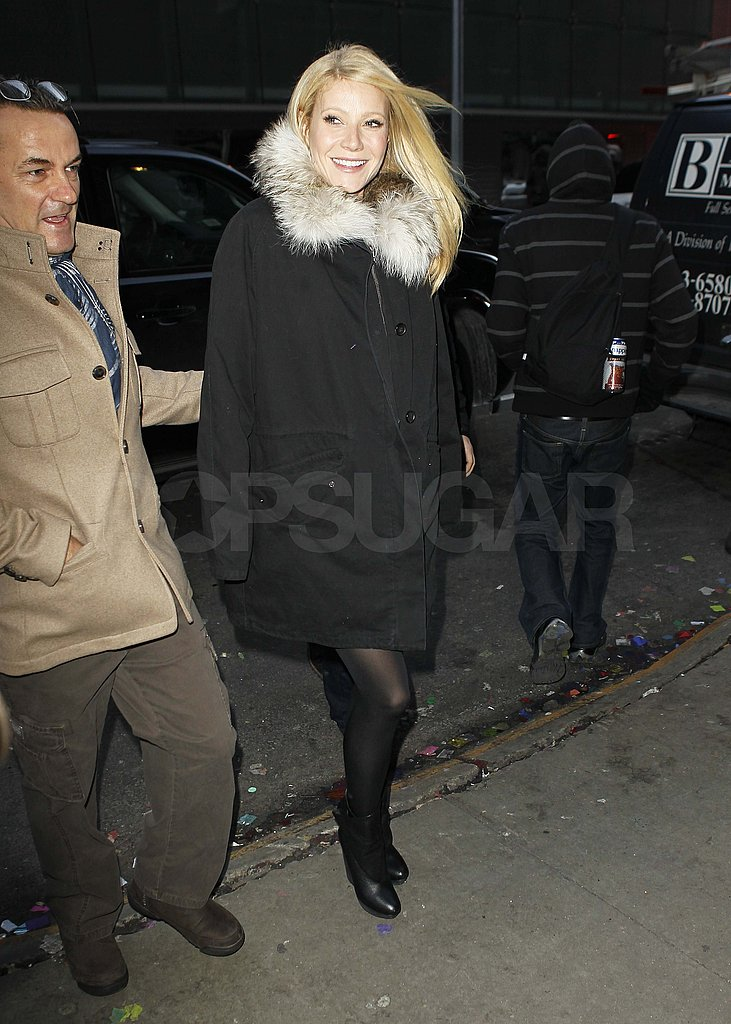 Gwyneth Paltrow Has a Good Morning in NYC as She Recovers From a Wild NYE