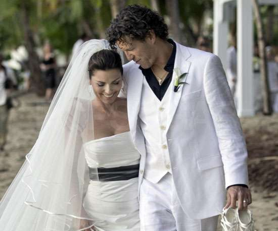 Pictures of Shania Twain's Wedding to Frederic Thiebaud