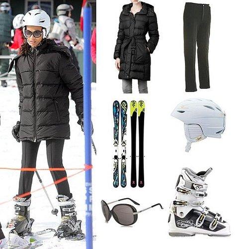 Zoe Saldana's Ski Outfit