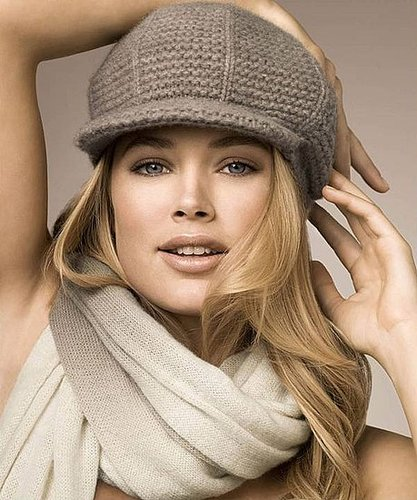 doutzen kroes face of repeat cashmere fall/winter collection
