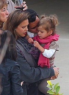 Pictures of Jessica Alba, Cash and Honor Warren at a Vow Renewal Ceremony