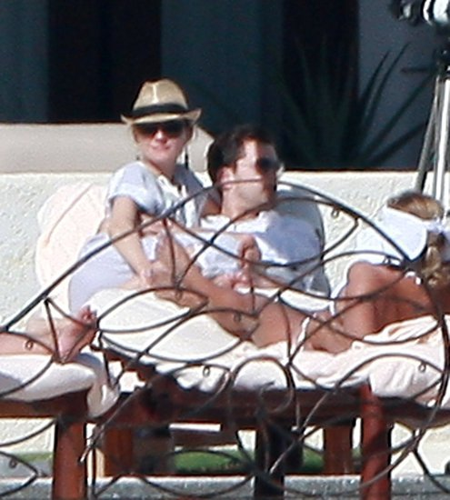 Pictures of Diane Kruger and Joshua Jackson on Vacation in Cabo