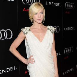 Pictures of Brittany Snow in French Connection Dress