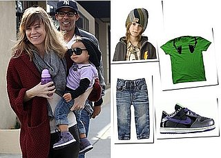 Picture of Ellen Pompeo and Stella Luna Ivery