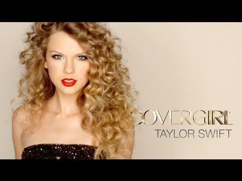 Taylor Swift Rocks Out in Her Debut Covergirl NatureLuxe Commercial