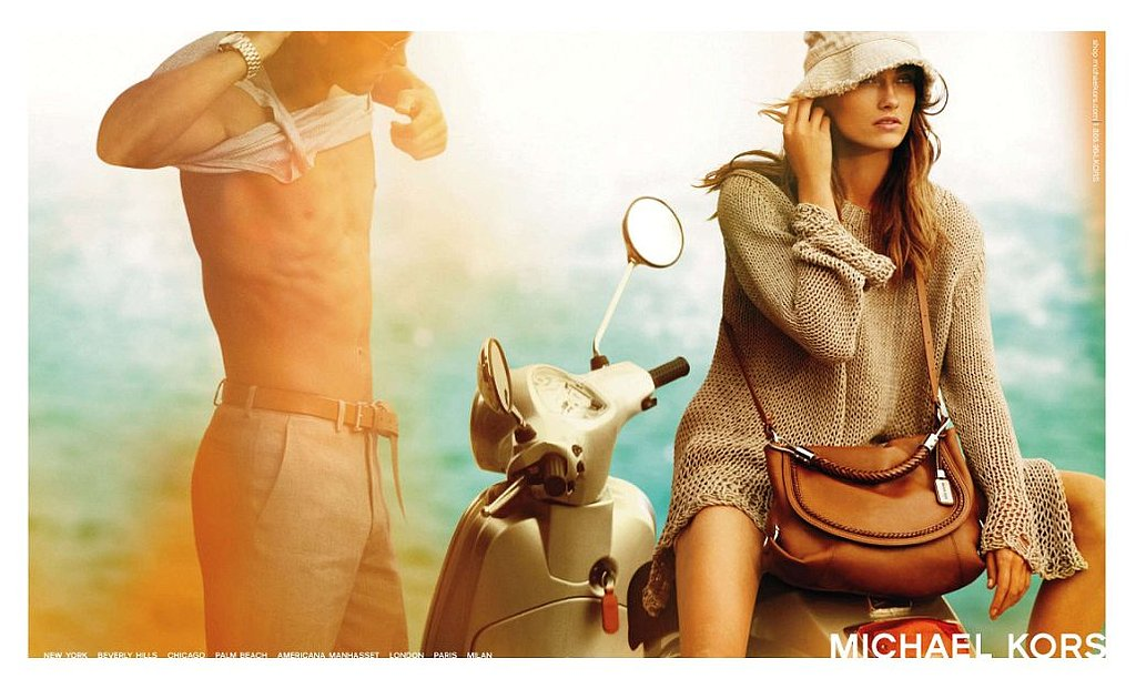 Karmen Pedaru for Michael Kors, by Mario Testino