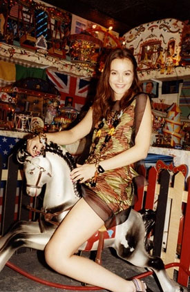 See Leighton Meester For Missoni's Spring/Summer Campaign, shot by Juergen Teller
