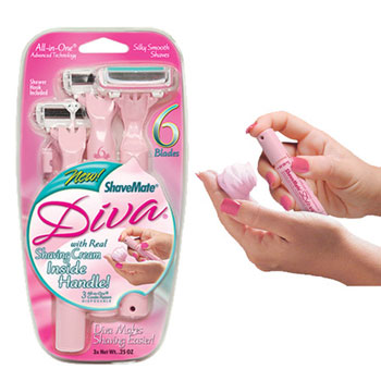 Review of ShaveMate Diva 6-Blade All-in-One Razor