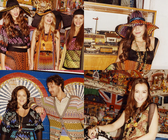 Leighton Meester Stars in Missoni Campaign for Spring 2011