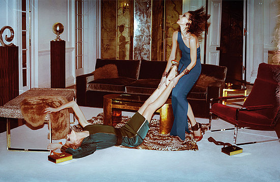 Photos of Kinga Rajzak, Iselin Steiro in Lanvin's Spring 2011 Ad Campaign