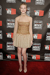 Pictures of Elle Fanning at 2011 Critics Choice Awards