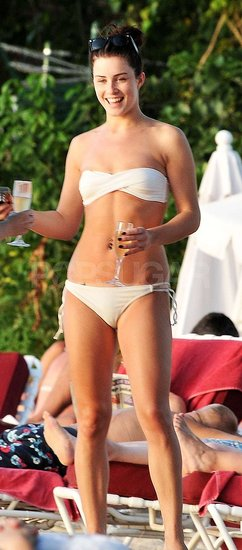 Pictures of Lucie Jones in Bikini in Barbados Working on New Music