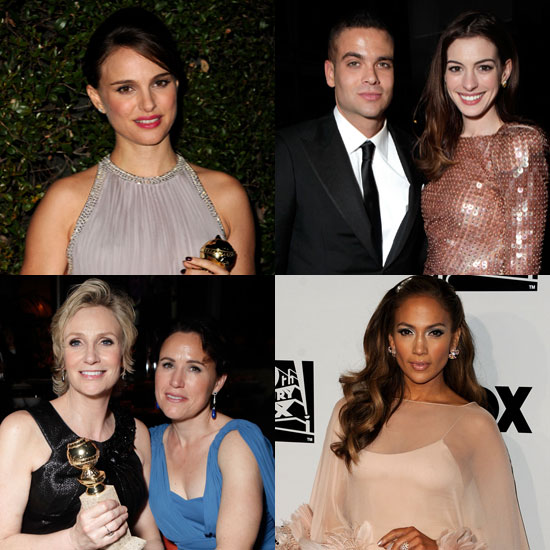Pictures from Fox Golden Globes 2011 Afterparty Including Anne Hathaway To Cameo Appearance On Glee