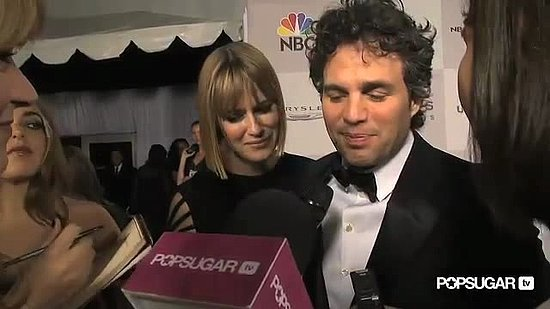 Video of Mark Ruffalo Talking About Annette Bening at Golden Globe Awards