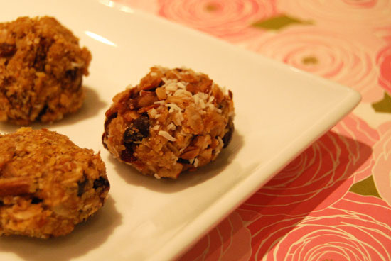 Peanut Butter and Honey Ball Recipe