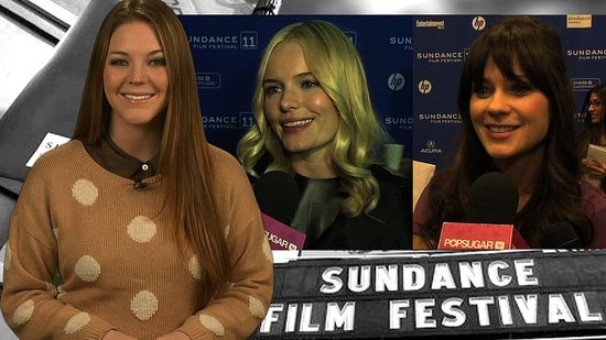 Kate Bosworth and Zooey Deschanel at the Sundance Film Festival 2011